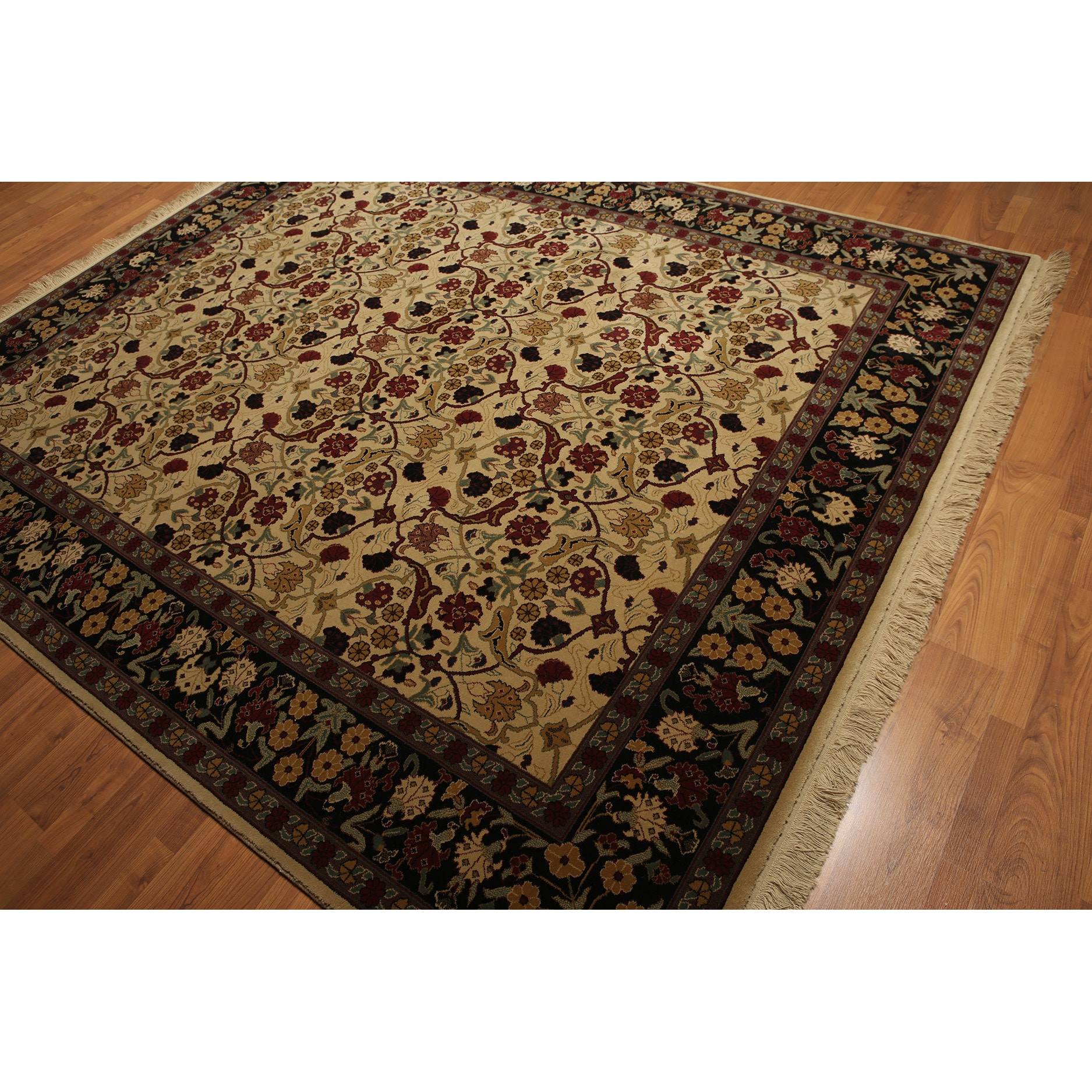 Karastan Persian Oriental Multicolored 100-percent Wool R...