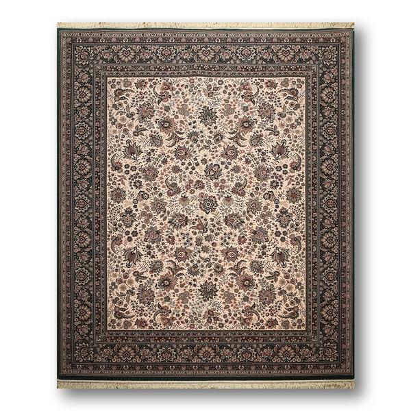 Ashton European Inspired Tabriz Multicolored Wool Persian Area Rug - 8'2 x 9'10