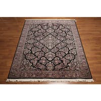 Multicolor Wool Woven Oriental Persian Area Rug - 8' x 11'