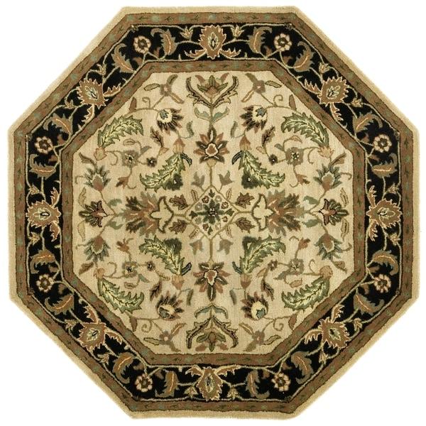 Tan Traditions Patina (8'x8') Octagon Rug - 8' x 8'