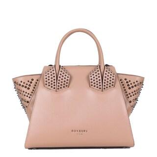 Roxbury Michalina Beige Satchel Bag
