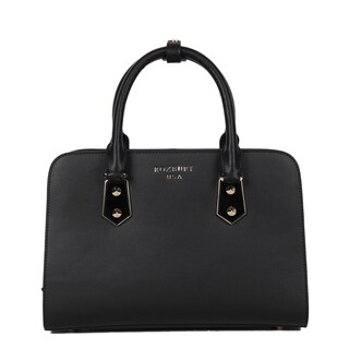 Roxbury Logan Black Satchel Bag