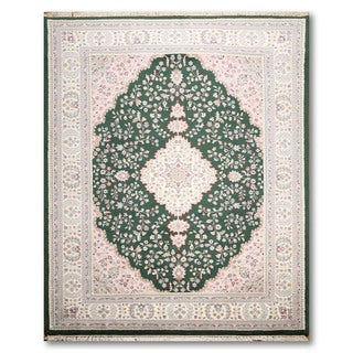 Tabriz Multicolored Wool Oriental Persian Hand-knotted Area Rug (7'6 x 10')