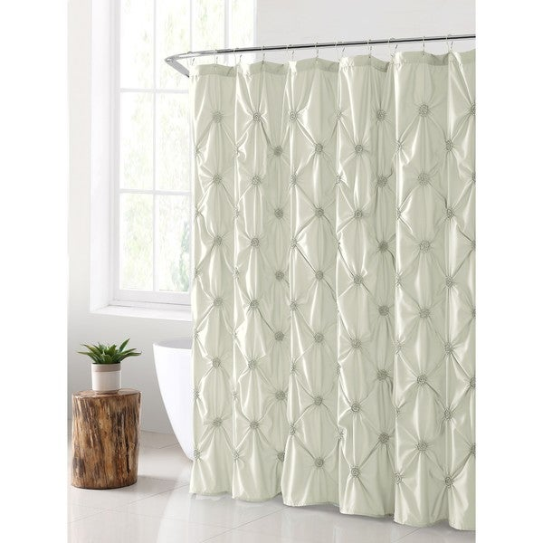 VCNY Home Floral Burst Shower Curtain