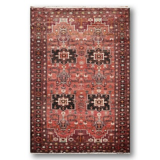 Hamadean Multicolor Wool Persian Hand-knotted Area Rug (5'8 x 10'4)