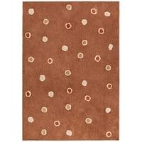 """Chocolate Dots Carousel (30""""x50"""") Rug"""