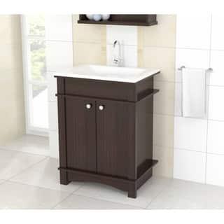 Modern bathroom vanities vanity cabinets for less for Modern bathroom vanities for less