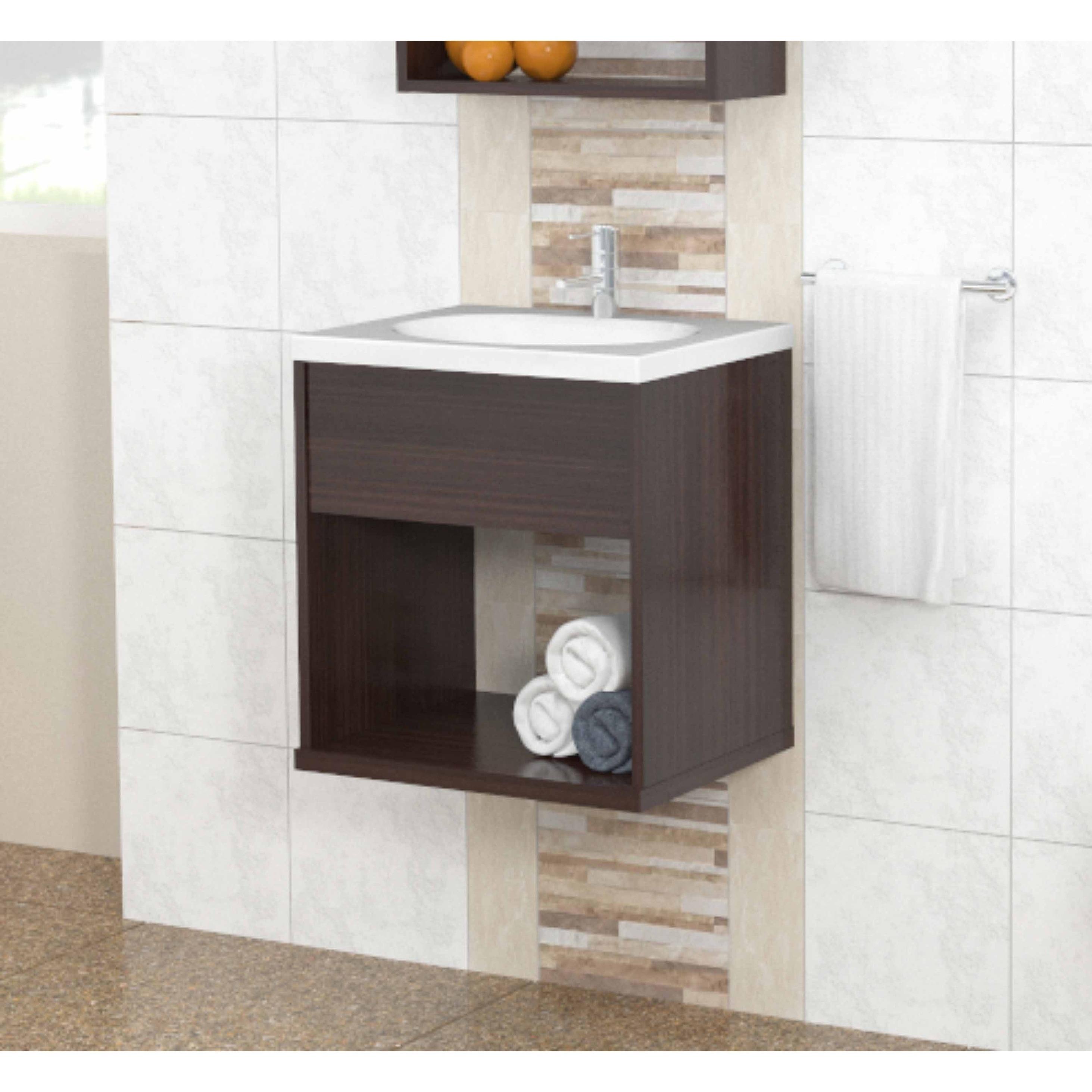 Inval Modern Espresso Bathroom Vanity Overstock 16901070