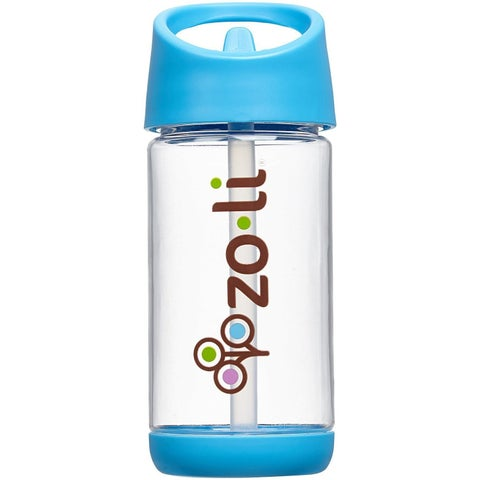 ZoLi SQUEAK Straw 12-ounce Water Bottle
