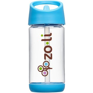 ZoLi SQUEAK Straw 12-ounce Water Bottle (Option: Purple)