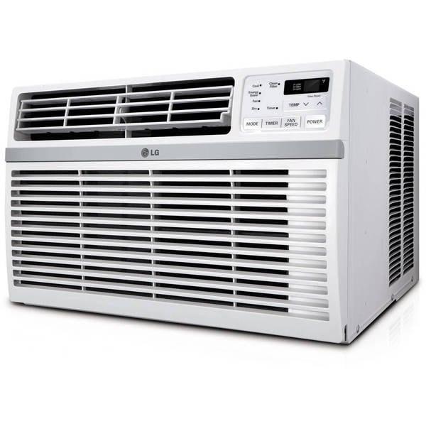 LG LW8016ER 8,000 BTU Window Air Conditioner (Refurbished) - White