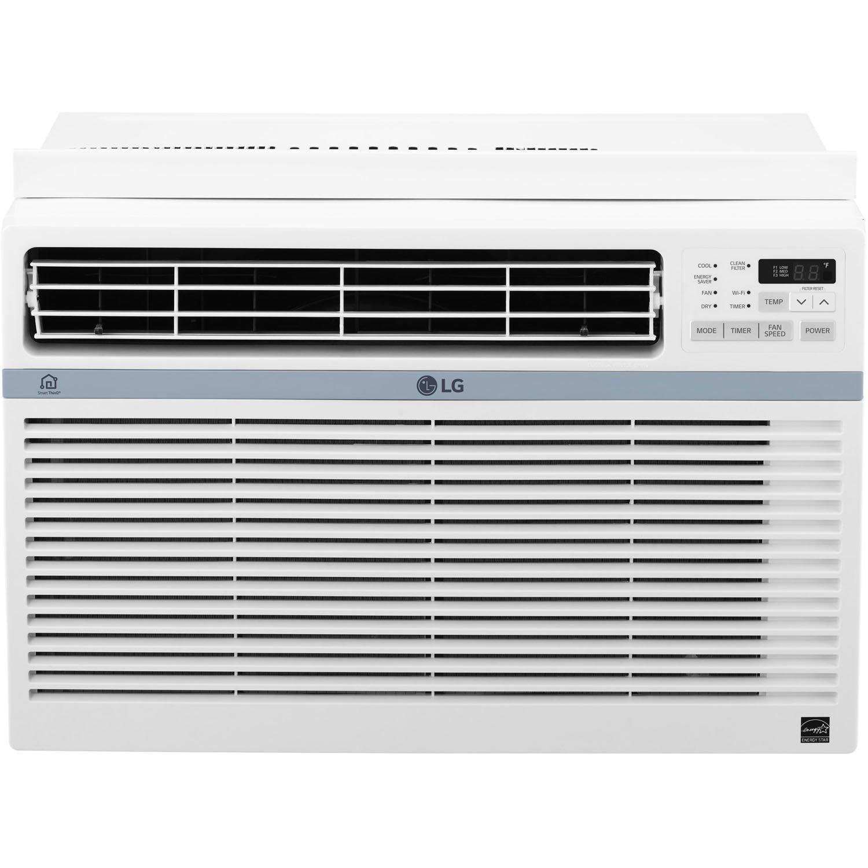 LG LW8017ERSM 115 V Window Mounted 10,000 BTU Air Conditi...
