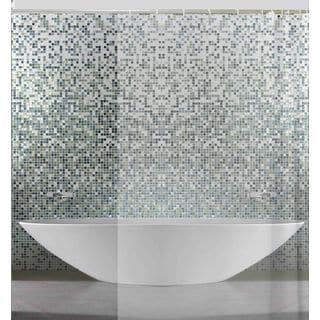 RT Designers Collection PEVA 3 Gauge 70 x 72 in. Shower Curtain Liner