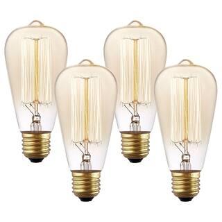 Light Society Set of 4 Classic Edison-Style Bulbs|https://ak1.ostkcdn.com/images/products/16901147/P23194484.jpg?impolicy=medium