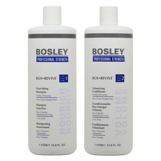 Bosley 33.8-ounce Shampoo & Conditioner for NON Color-Treated Hair