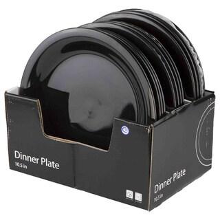 """Home Basics 10.5"""" Ceramic Dinner Plate"""