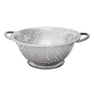 Home Basics 3 QT Stainless Steel Deep Colander