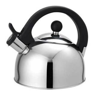 Home Basics 2.5 Liter Stainless Steel Tea Kettle