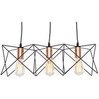 Light Society Crampton Three-Light Pendant