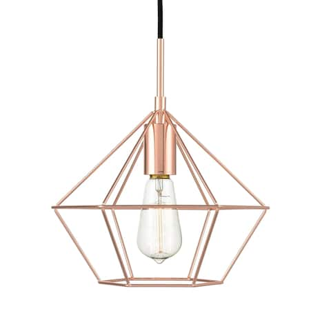 Light Society Verity Pendant Light - rose gold - rose gold