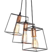 Light Society Port Hadlock Three-Light Pendant