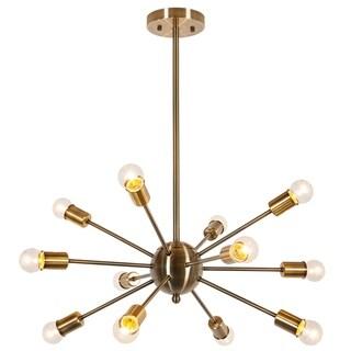Light Society Meridia Sputnik Style Chandelier