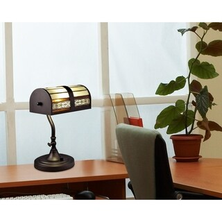 "Dale Tiffany Select 14""H Cookie LED Desk Lamp"