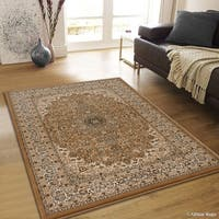 "Allstar Beige/ Berber Dense High Pile Persian Rug (5' 3"" X 7' 5"")"