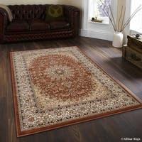 """Allstar Brown/ Berber Dense High Pile Persian Rug (5' 3"""" X 7' 5"""")"""
