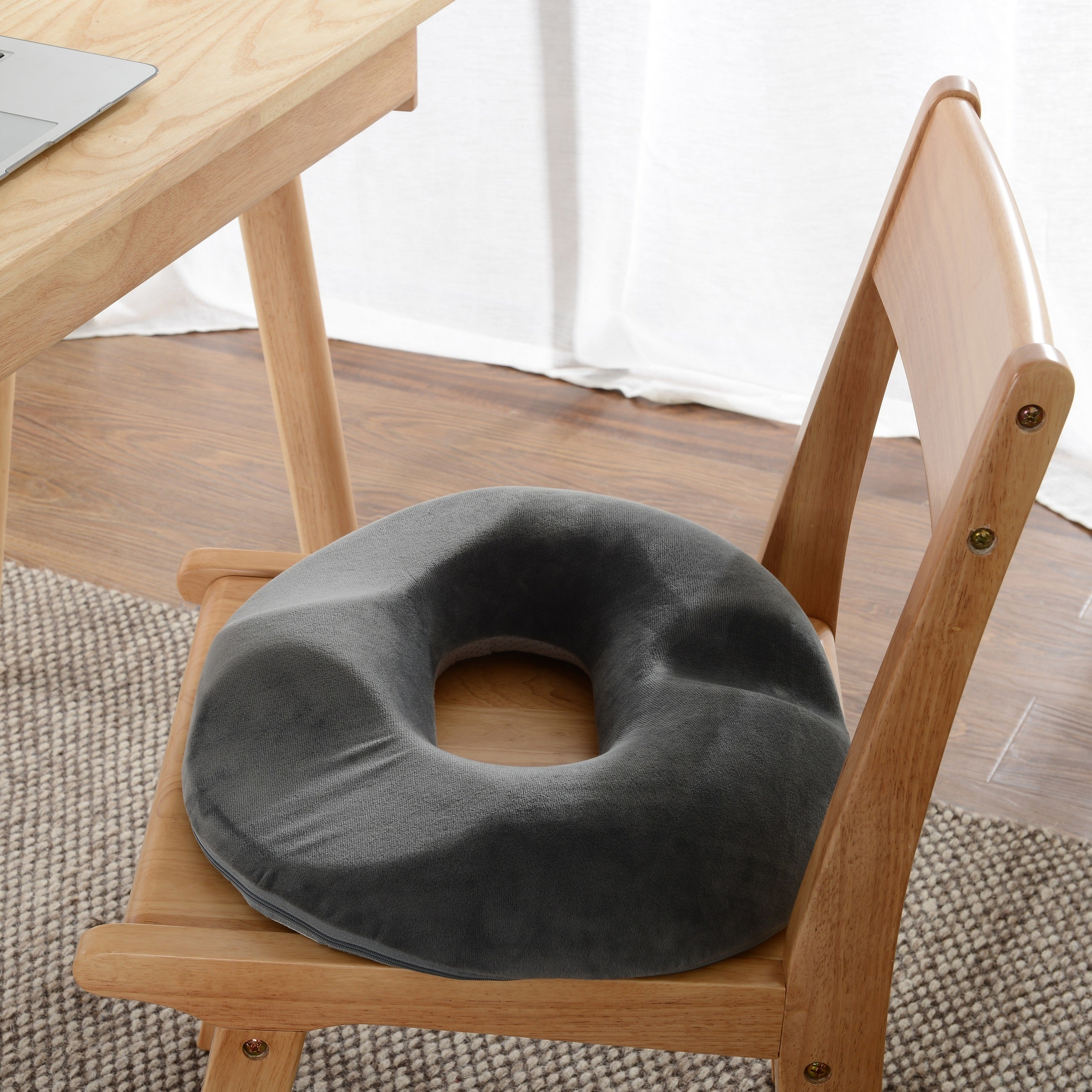 Cheer Collection Ultra Supportive Memory Foam Donut Seat ...