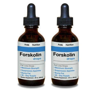 Arete Nutrition Forskolin Drops (Pack of 2)