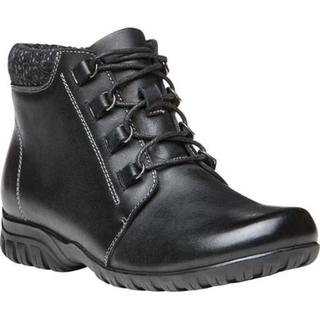 Women's Propet Delaney Boot Black Leather