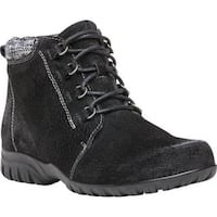 Women's Propet Delaney Boot Black Suede