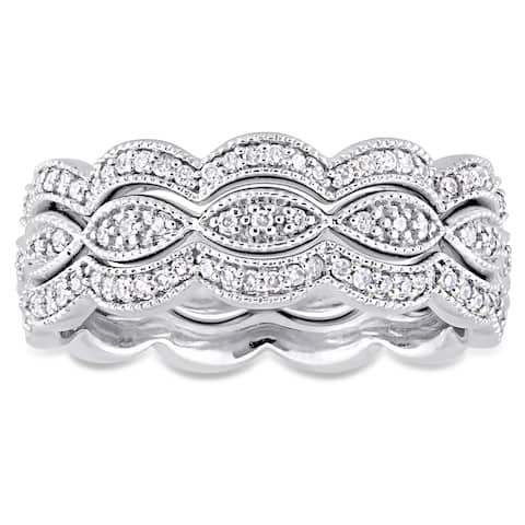 ea06bd86e059c Stackable Rings | Find Great Jewelry Deals Shopping at Overstock