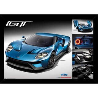 Ford GT 2016 Poster With Choice of Frame (24x36)