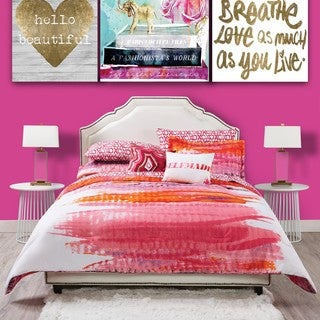 Oliver Gal Miami Sunrise 3-piece Duvet Set