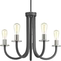 Remix Collection 5-Light Graphite Chandelier