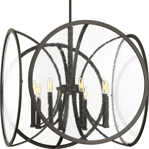 Captivate Collection 8-Light Graphite Pendant