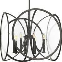 Captivate Collection 8-Light Graphite Pendant