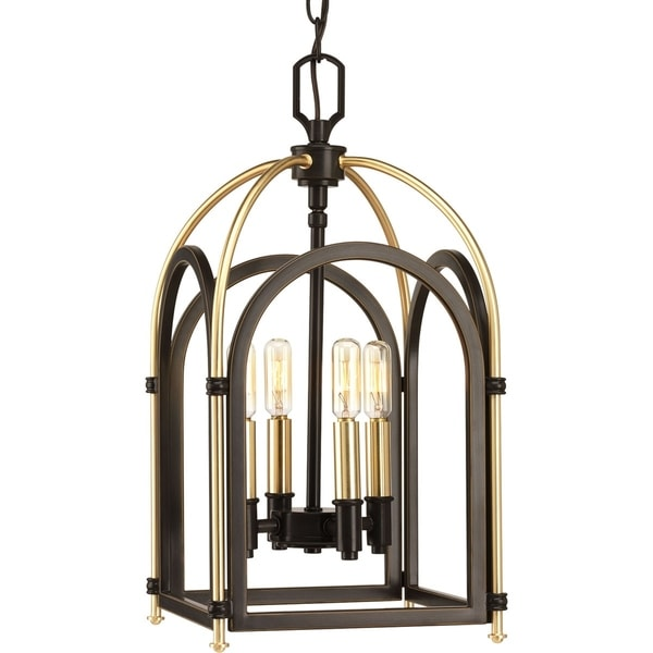 Westfall Collection Antique Bronze 4-light Pendant