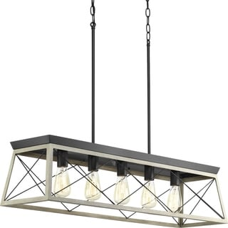 Briarwood Collection 5-Light Graphite Chandelier