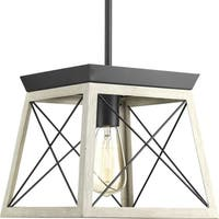 Briarwood Collection 1-Light Graphite Pendant