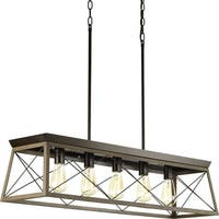 Briarwood Collection 5-Light Antique Bronze Chandelier