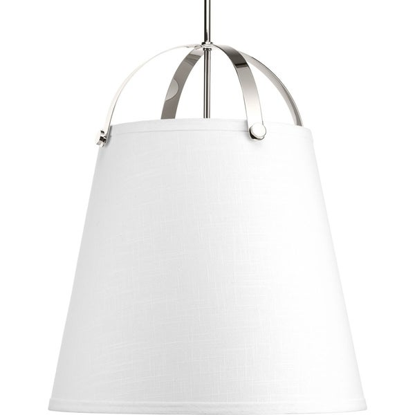 Galley Collection 3-Light Polished Nickel Pendant