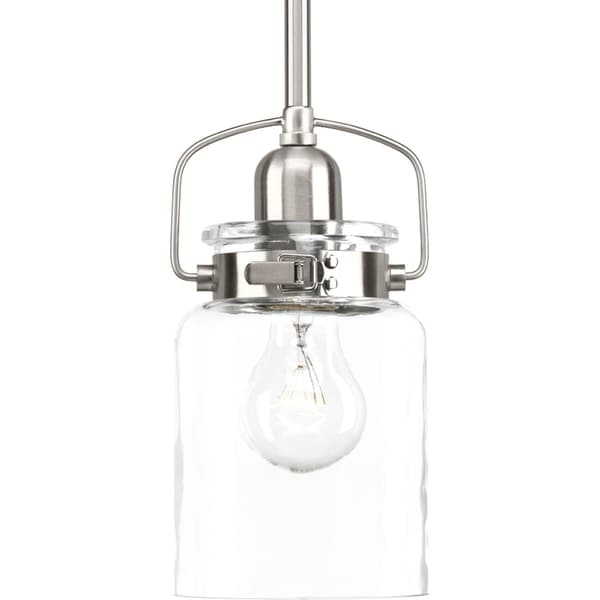 Calhoun Collection 1-Light Brushed Nickel Pendant