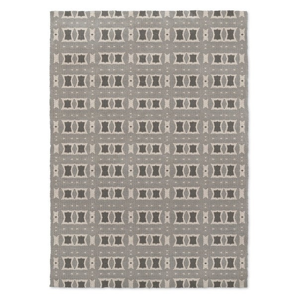 Kavka Designs Crossroads Grey Accent Rug (2' X 3') - 2' x 3'