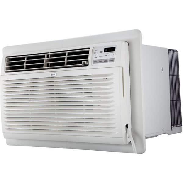 Shop Lg Lt1236cer 10 000 Btu 220v Thru The Wall Air Conditioner Refurbished White Overstock 16913032