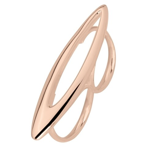 Rose Gold Plated Ring Size 7