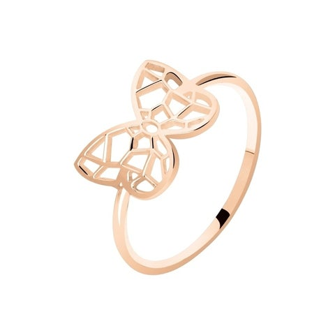 Rose Gold Plated Ring Size 6