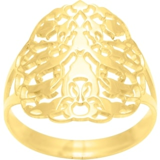 Gold Plated Ring Size 7